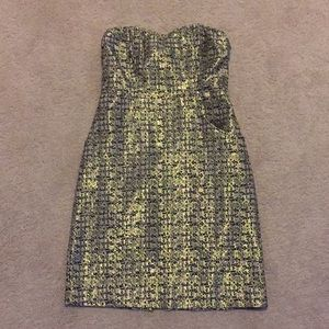 Limited strapless cocktail dress
